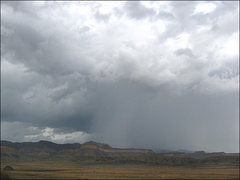 Rock Climbing Photo: Utah Storm. Photo by Blitzo.