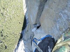 Rock Climbing Photo: Trundle!