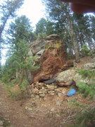 Rock Climbing Photo: West face of El Primero Boulder.
