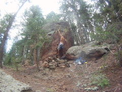 Rock Climbing Photo: On the first ascent of El Primero.