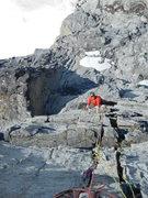Rock Climbing Photo: Ryan Following pitch 5