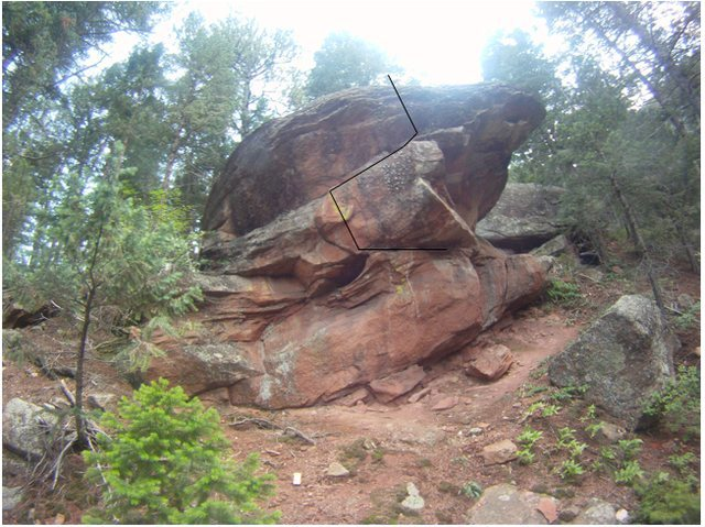Rock Climbing Photo: Annex (V1-2).