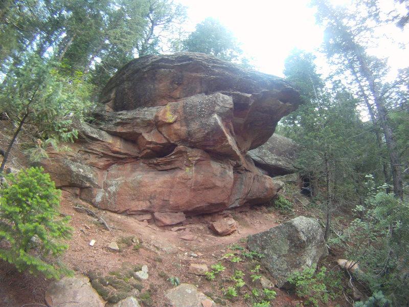 Rock Climbing Photo: The Annex Boulder.