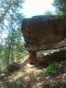Rock Climbing Photo: The Annex Boulder and the first half of As You Wis...