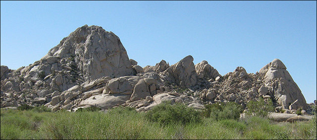 Mojave Preserve.<br> Photo by Blitzo.