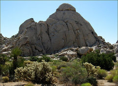 Rock Climbing Photo: Another Mojave Preserve Crag. Photo by Blitzo.