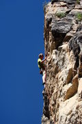 Rock Climbing Photo: This route is finalized.