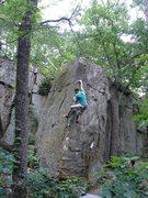 Rock Climbing Photo: Such a classic!  Ian running a lap.