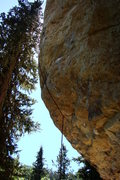 Rock Climbing Photo: Like a proctologist exam, this is a good project f...