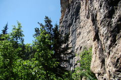 Rock Climbing Photo: A shot of the Big Picture Wall from the left most ...