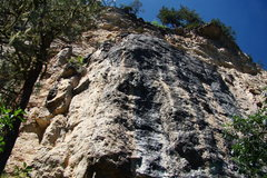 Rock Climbing Photo: Big Picture Wall. From left to right, Better Off D...