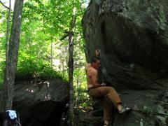 Rock Climbing Photo: undercling.