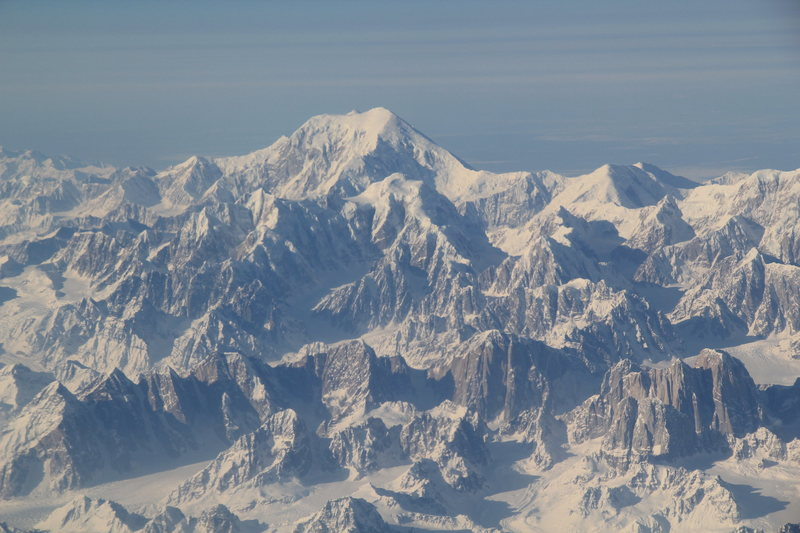 Rock Climbing Photo: Denali National Park, Sultana Pk. (aka Mt. Foraker...