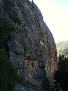 Rock Climbing Photo: The Surgery Buttress in Glenwood Canyon.
