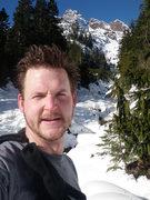 Rock Climbing Photo: Soloclimbing Mt Washington; January 12, 2011