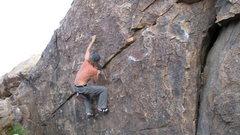 jay wonderwall bouldering