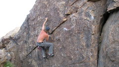 Rock Climbing Photo: jay wonderwall bouldering