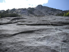 Rock Climbing Photo: Slab Daddy pitch 5