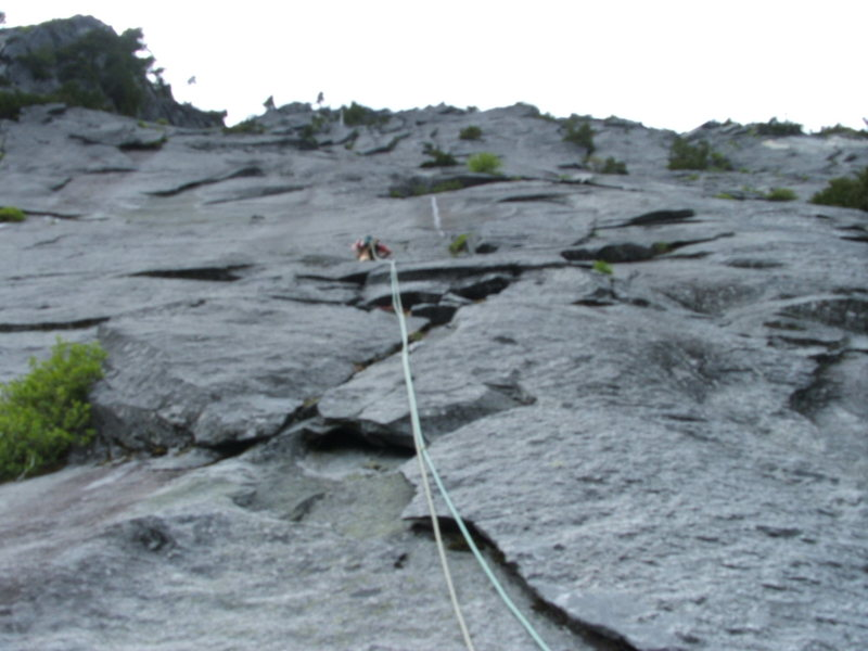 Rock Climbing Photo: Pitch 18 Slab Daddy 5.10