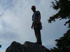 Rock Climbing Photo: The summit of Squire Creek Wall