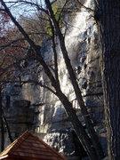 Rock Climbing Photo: wet