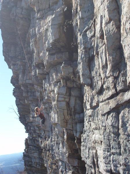 Rock Climbing Photo: P2 of The Winter
