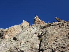 Rock Climbing Photo: Petit on the left, Saber in the center and the Foi...