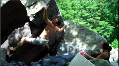 Rock Climbing Photo: Compressing
