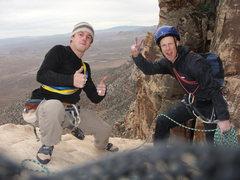 Rock Climbing Photo: Unimpeachable Groping. Red Rocks, NV