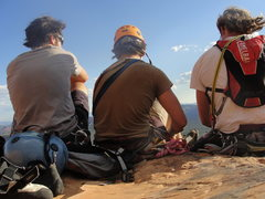 Rock Climbing Photo: Summit of Dr. Rubios Wild Ride, Sedona AZ