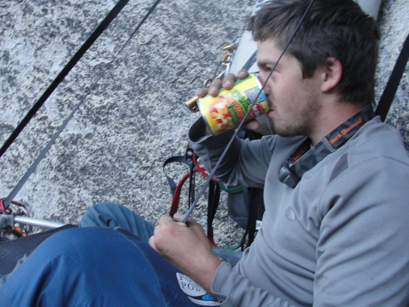 Rock Climbing Photo: Breakfast in yosemite.
