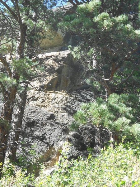 Rock Climbing Photo: Water Rights as seen from the trail