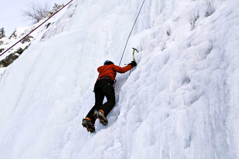 Rock Climbing Photo: Ice-Stairway to Heaven, UT