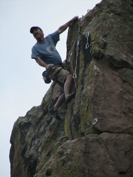 5.11 beer gut on-site, Newlin Creek<br>