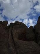 Rock Climbing Photo: Mr. Wind.