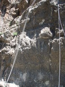 Rock Climbing Photo: Short Stuff is the crack on the right side of the ...