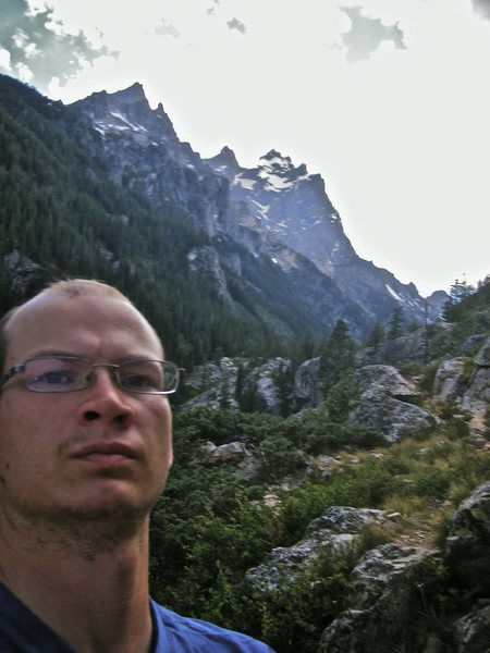 In the Grand Tetons 2010.
