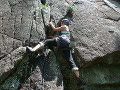 Rock Climbing Photo: Bouldery start