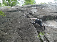 Rock Climbing Photo: Here you can see the full route more or less.  I f...