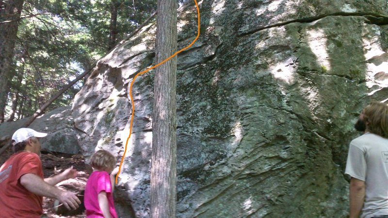 Rock Climbing Photo: BEta for Land Lubber