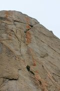 Rock Climbing Photo: Jabba, such an inviting line....