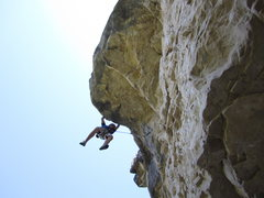 Rock Climbing Photo: This route is in the New Spearfish Canyon guideboo...
