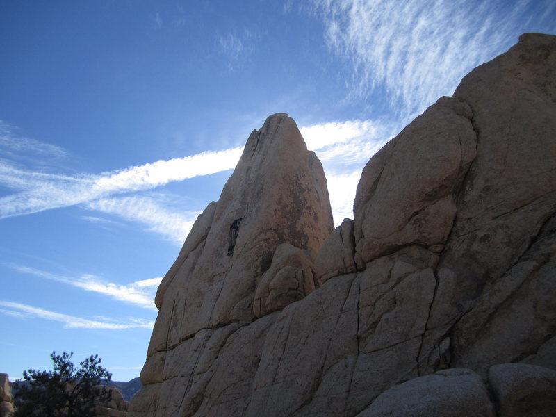 Rock Climbing Photo: Sail Away