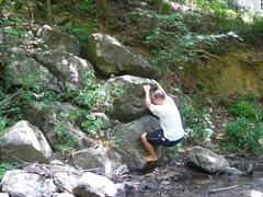 Rock Climbing Photo: Start of Mope 'n Dope
