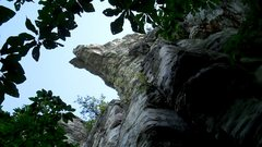 "Rock Climbing Photo: The awesome ""Indian Head"" feature that l..."