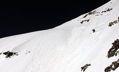 Rock Climbing Photo: Skiing Pyramid Peak Aspen CO.  Picture is copyrigh...