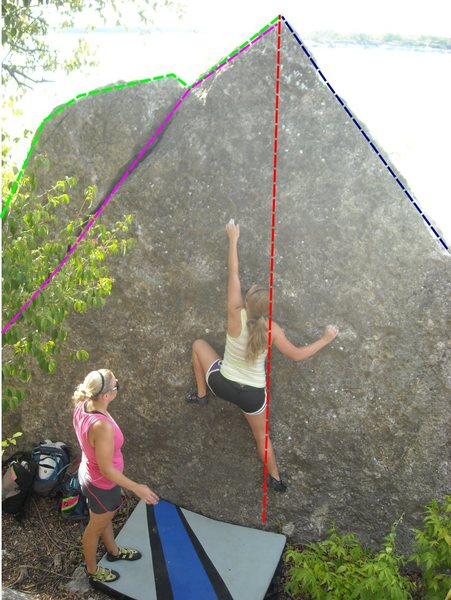 Rock Climbing Photo: RED: Mission Direct
