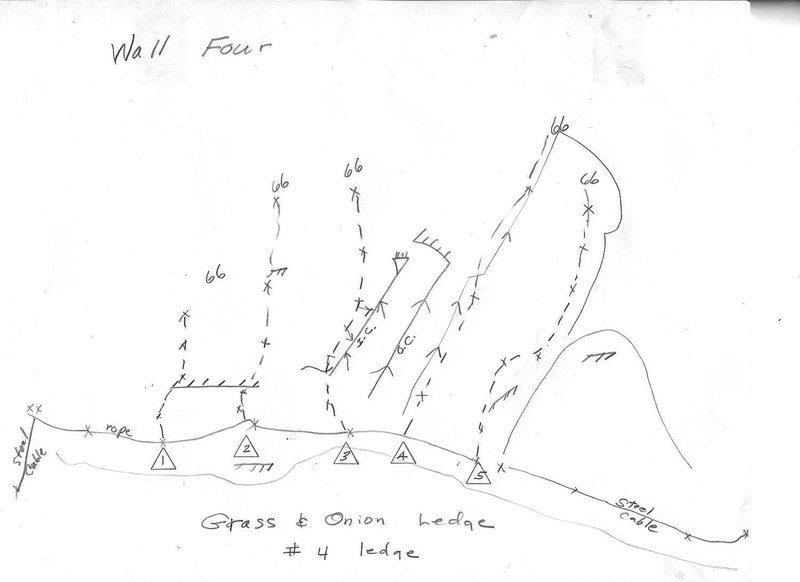 Four Wall Climbing Topo