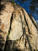 Rock Climbing Photo: The two bolted lines on the French Creek Sentinel
