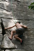 Rock Climbing Photo: Victor on Boston - great work!